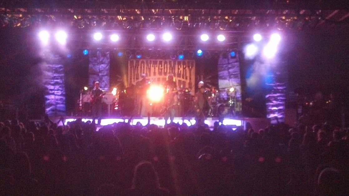Montgomery Gentry in Sheridan, Wyoming