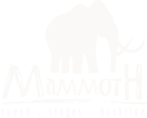 Mammoth AV White Logo