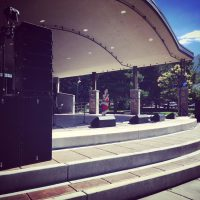 Mammoth Sound's DB Technologies T8, T12, and S30 Setup at Orem Summer Fest